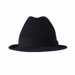 BORSALINO cappello uomo blu con grò in tinta mod 490029 MARENGO MADE IN ITALY