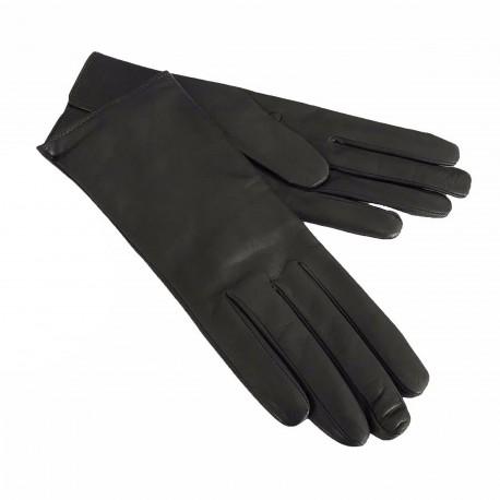 LA BOTTEGA DEL GUANTO guanti donna grigio 100% pelle