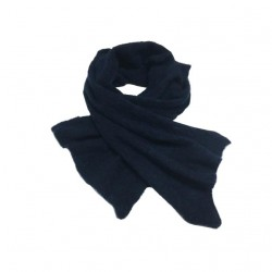 CHIARA BERTANI scarf woman blue / lurex 37% superkidmohair 37% wool merinos MADE IN ITALY