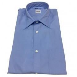 ASPESI shirt man mod SEDICI blue 100% cotton