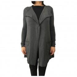 LA FEE MARABOUTEE gray women cardigan mod FA5267