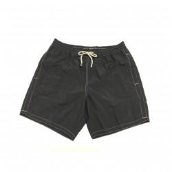 ZEYBRA men's swimming trunks black mod AUB001 100% polyamide MADE IN ITALY