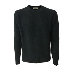 DELLA CIANA man sweater gray 80% wool 20% cashmere MADE IN ITALY