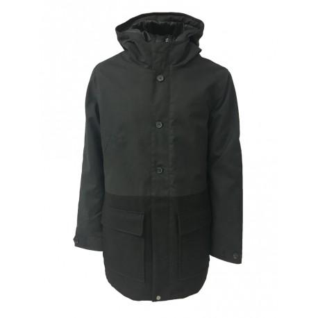 ELVINE jackets man mod ELVINE JACKET black