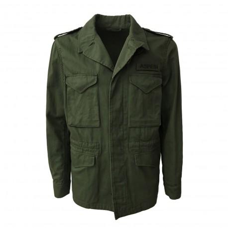 ASPESI E794 A mod CG17 cotone verde uomo 100 M43 Giacconi giacca Tnp74fTr
