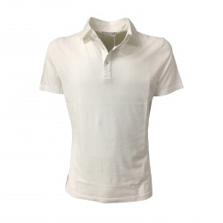 GIRELLI BRUNI men's polo white mod R 826 PC short sleeves 100% cotton MADE IN ITALY