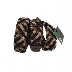 VERNIZZI man crocodile belt 100% leather MADE IN ITALY