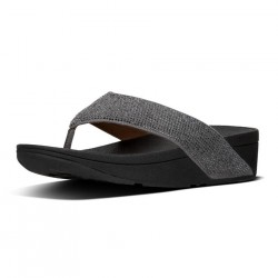 FIT FLOP woman flip flop pewter RITZY TOE-THONG L23-054