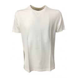 DELLA CIANA t- shirt uomo mezza manica bianca 100 % cotone