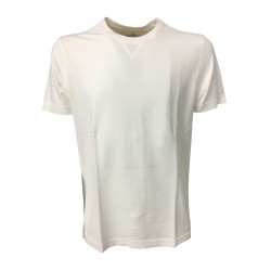 DELLA CIANA white T-shirt man 100% cotton MADE IN ITALY