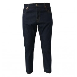 TISSUE' jeans uomo onewashed mod BRANDO PANT TPM00901 100% cotone MADE IN ITALY
