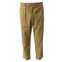 BKØ linea MADSON pantalone uomo beige RAINER con TASCONI DU18064 MADE IN ITALY