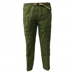 WHITE SAND men's trousers green with elastic waistband mod 18SU13 04