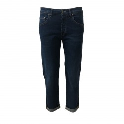 ATELIER CIGALA'S jeans donna mod 973 BOY-FRIEND fondo cm 16 MADE IN ITALY