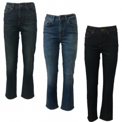 SEVEN7 jeans donna vita alta mod RAFAELLA 2947015 HIGH RISE SUPERFLARE