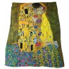 VESTILARTE foulard The Kiss - Gustav Klimt 110 cm x 150 cm MADE IN ITALY 100% MicroModal