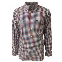 BROOKS BROTHERS camicia uomo manica lunga button-down con taschino mod 942200 linea RES FLEECE
