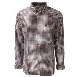 BROOKS BROTHERS man long sleeve button-down shirt with small pocket 942200 RES line FLEECE
