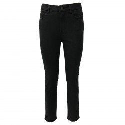 ATELIER CIGALA'S women's jeans black high rise 14-113 SKINNY MADE IN ITALY