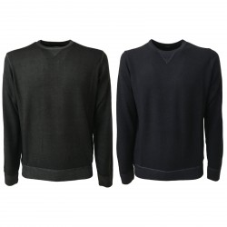 ALPHA STUDIO men's sweater slim mod AU-6027CS 100% wool
