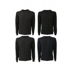 ALPHA STUDIO maglia uomo girocollo vestibilità slim 100% lana mod mod AU-6020C