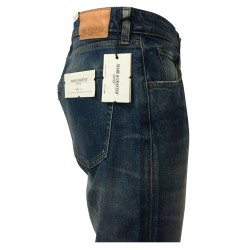 MADE & CRAFTED by LEVI'S jeans uomo mod TACK SLIM 1000135540 05081-0213 100% cotone