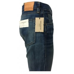 MADE & CRAFTED By LEVI'S jeans uomo TACK SLIM 1000146464 05081-0240 100% cotone cimosato