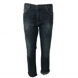 SEVEN7 jeans donna mod boy-friend RICKY 1448643 VERDETB 98% cotone 2% elastan