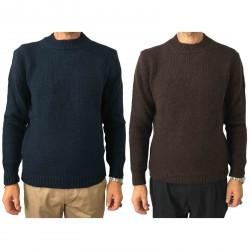 SETTEFILI CASHMERE maglia uomo girocollo lana mod RA6BUH.BN04 MADE IN ITALY