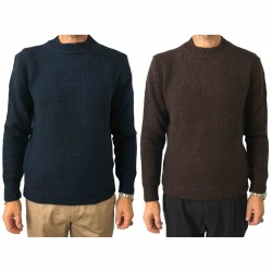 SETTEFILI CASHMERE men's sweater wool mod RA6BUH.BN04 MADE IN ITALY