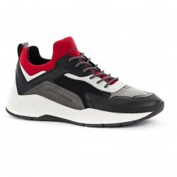 CRIME LONDON man shoes leather/neoprene/canvasmod mod KOMRAD 11946AA1.20