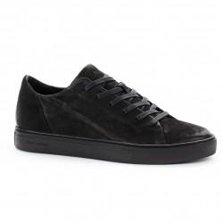 CRIME LONDON men's shoes black 100% leather mod AMUSE 11352AA1.20