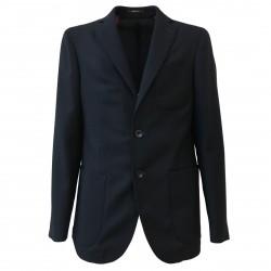 ROYAL ROW giacca uomo sfoderata blu LONDON G88B 100% lana MADE IN ITALY