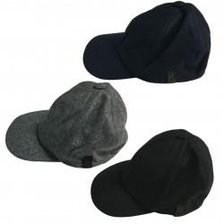 FERRANTE cappello uomo lana con visiera mod U17100 BASEBALL MADE IN ITALY