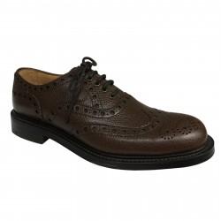 JOSEPH CHEANEY & SONS scarpa uomo pelle moro allacciata WOKING MADE IN ENGLAND