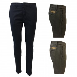 ICON LAB 1961 men's trousers chino 97% cotton 3% spandex MADE IN ITALY