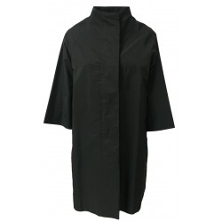 ASPESI woman jacket unlined black taffeta mod SHIBUYA N408 1291