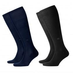 BURLINGTON calza uomo al ginocchio mod 21715 DUBLIN 95% cotone 40-46