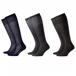 BURLINGTON calza uomo al ginocchio mod 21736 CARDIFF 76% cotone 40-46