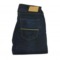 CARE LABEL jeans uomo style YELLOW 100% cotone MADE IN ITALY