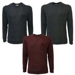 BELLWOOD maglia uomo antracite art. 327r0201 50% lana 50% acrilico MADE IN ITALY