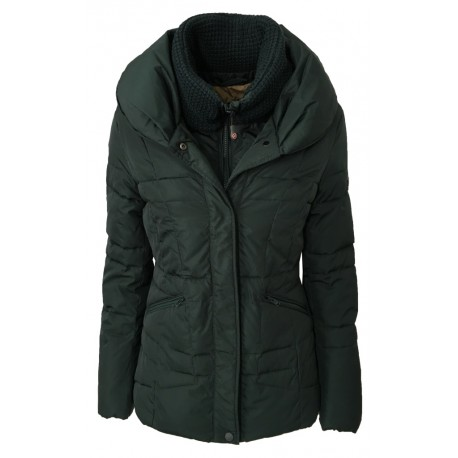 NORWAY giaccone donna verde mod MERMAID