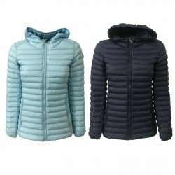 NORWAY giacca donna 100 gr con cappuccio imbottitura 100% poliestere mod KEYRA
