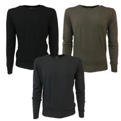 CA' Vagan crew neck sweater 100% wool MADE IN ITALY art. 10C-6001