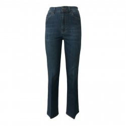 ATELIER CIGALA'S jeans donna leggero mod 15-136 BELL BOTTOM H.W MADE IN ITALY