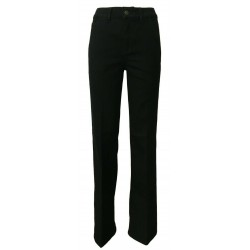 ATELIER CIGALA'S women's jeans black mod 14-230 CHINO FLARE var.rinse MADE IN ITALY