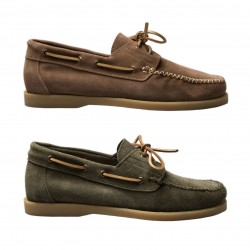 MAZE man's shoes with laces mod ADELMO VELOUR 100% leather MADE IN ITALY