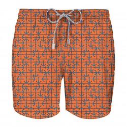 ZEYBRA men's swimming trunks mod AUB962 ANCORE linea HERITAGE MADE IN ITALY