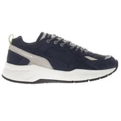 CRIME LONDON man's shoes blue leather art NASH 11604PP1.40