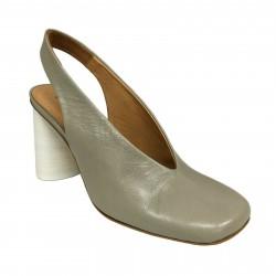 HALMANERA scarpa donna stone ORIANE02 100% pelle MADE IN ITALY (Tacco:cm 9.5)